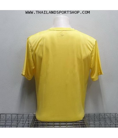 เสื้อกีฬา วอริค WARRIX รหัส WA 1569 (สีเหลือง YY) ผ้าทอลาย