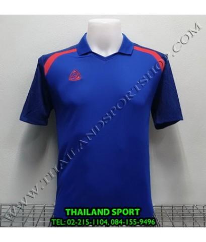 เสื้อกีฬา อีโก้ EGO SPORT รหัส EG 5124 (สีน้ำเงิน) คอปก
