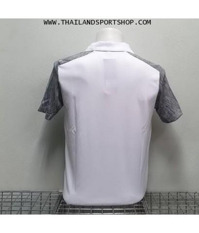 เสื้อกีฬา อีโก้ EGO SPORT รหัส EG 5124 (สีขาว) คอปก