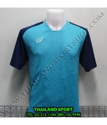 เสื้อกีฬา อีโก้ EGO SPORT รหัส EG 5126 (สีฟ้าบลูเบิร์ด)  ผ้าทอลาย camo