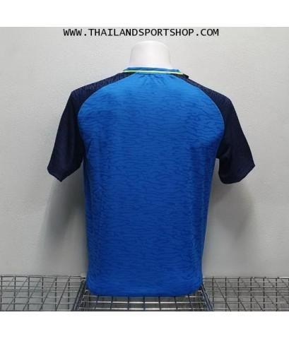 เสื้อกีฬา อีโก้ EGO SPORT รหัส EG 5126 (สีน้ำเงินวิคตอเรีย)  ผ้าทอลาย camo