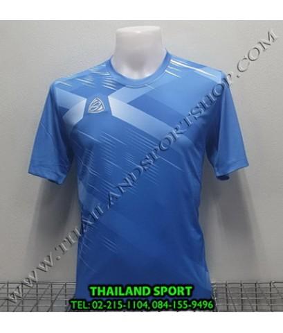 เสื้อ อีโก้ EGO SPORT รุ่น EG-5116 (สีฟ้า) พิมพ์ลาย