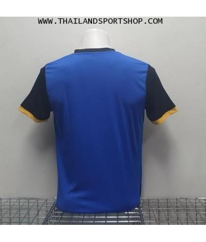 เสื้อกีฬา ยูเรก้า EUREKA รุ่น A5033 (สีน้ำเงิน BA) พิมพ์ลาย