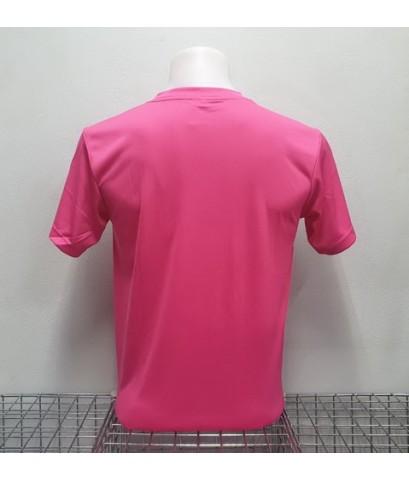 เสื้อกีฬาสี สีล้วน matador md-101 (สีชมพู).