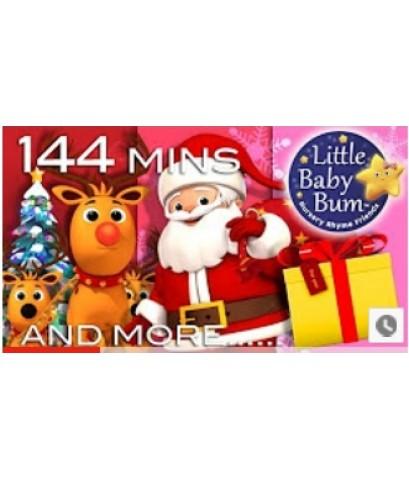 Christmas Songs Compilation! Huge! Plus Over 2 Hours of Nursery Rhymes