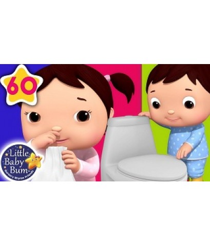 Bathroom Song  Wash Your Hands Nursery Song