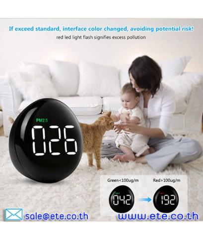 เครื่องวัดฝุ่น PM2.5 Indoor Air Quality Monitor รุ่น ETE10