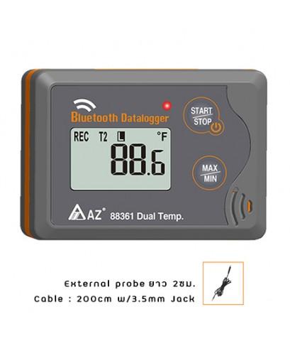เครื่องบันทึกอุณหภูมิ Bluetooth In/Out Temperature Datalogger รุ่น 88361