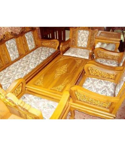 ชุดโต๊ะเก้าอี้ คลาสสิค สไตล์หลุยส์    ไม้สักทอง สั่งตรงจาก อ.สูงเม่น จ.แพร่  จัดส่งถึงบ้าน