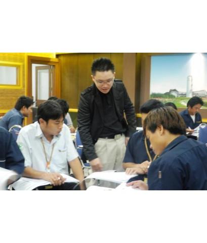 หลักสูตร : ฝึกอบรมด้านความปลอดภัยฯในการทำงานสำหรับลูกจ้างทั่วไปและลูกจ้างเข้าใหม่