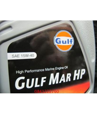 Gulf MAR HP 15W-40 น้ำมันเรือ ขนาด 5 ลิตร