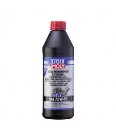 LIQUI MOLY GEAR FULLY SYNTHETIC OIL GL5 SAE 75W-90 1414 1l.