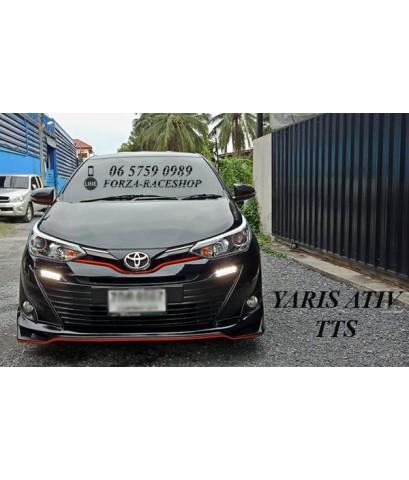 ชุดแต่งสเกิร์ตรอบคัน Toyota Yaris Ativ TTS - โตโยต้า ยาริส เอทีฟ 2017 2018 2019
