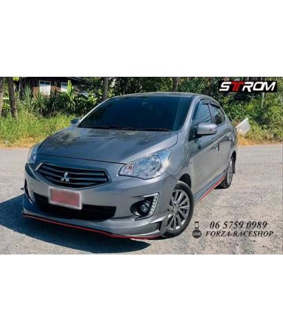 ชุดแต่งสเกิร์ตรอบคัน Mitsubishi Attrage Strom - มิตซูบิชิ แอททราจ 2017 2018 2019
