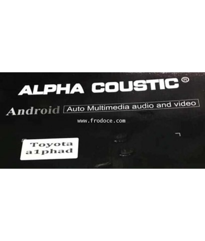 Alpha coustic  จอ Android ตรงรุ่นรถ Toyota Alphard  ปี 2015 ขึ้นไป(Ram 2 GB / Rom 16 / 4 Core )