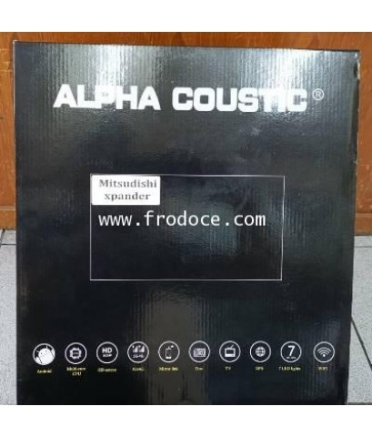 Alpha coustic จอAndroid ตรงรุ่นรถ Mitsubishi Xpander(Ram 2 GB / Rom 16 / 4 Core )
