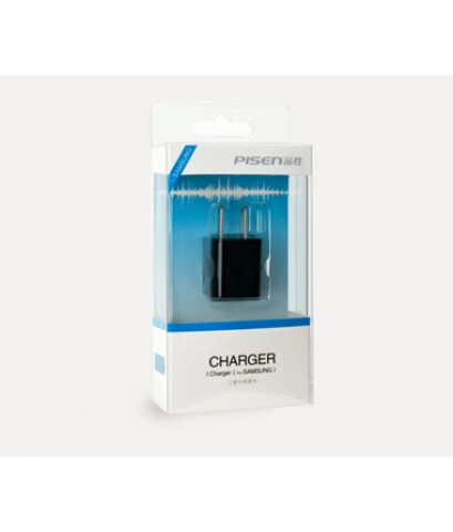 Pisen I Charger for Samsung สีดำ