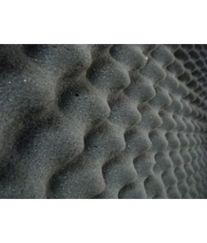 แผ่นซับเสียงรังไข่ สีเทาดำ ฟองน้ำรังไข่ Triple Six เป็นแผ่นซับเสียงกลองในห้องได้ แผ่นกันเสียง Den 20