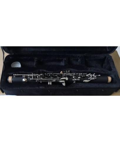 bass clarinet E flat clarinet, children\'s clarinet, เบส clarinet   คุณภาพดี พร้อมกล่องและอุปกรณ์