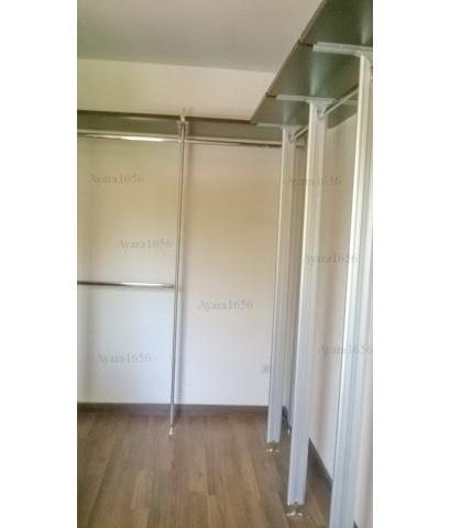 Walk In Closet - L Shape สี Walnut