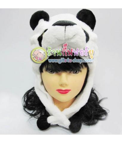 หมวกแฟนซี หัวหมีแพนด้า