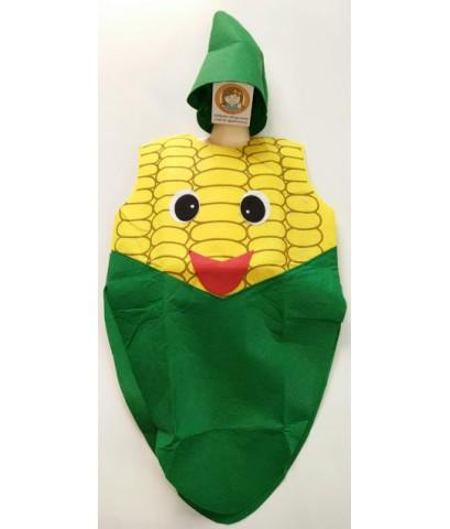 ชุดแฟนซีเด็ก ชุดข้าวโพด ชุดผลไม้ ชุดเด็ก ชุดการแสดง ทำจากผ้าใยสำลี ขนาด 55x75 ซ.ม. fruit suit