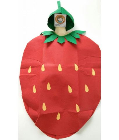 ชุดแฟนซีเด็ก ชุดสตอเบอรี่ ชุดผลไม้ ชุดเด็ก ชุดการแสดง ทำจากผ้าใยสำลี ขนาด 55x75 ซ.ม. fruit suit