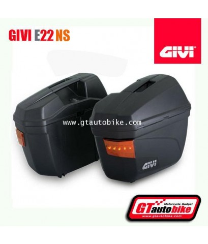 GIVI E22 Side Cases with Signal Light