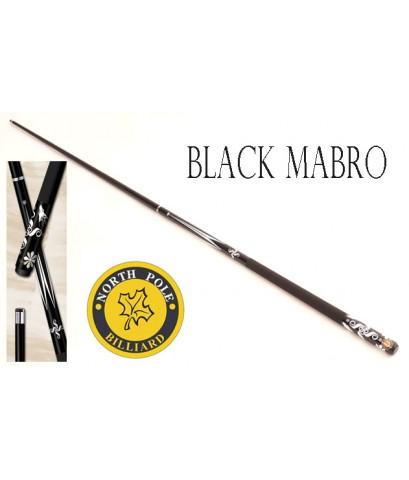 ไม้คิวกราไฟต์ NORTHPOLE รุ่น BLACK MABRO แบบต่อกลาง