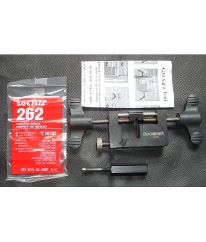 ขายเครื่องมือสำหรับถอดประกอบศูนย์ปืนหน้า/หลังของปืนGLOCK จากGLOCKMEISTER สวยกิ๊กๆ ราคา7000บาท