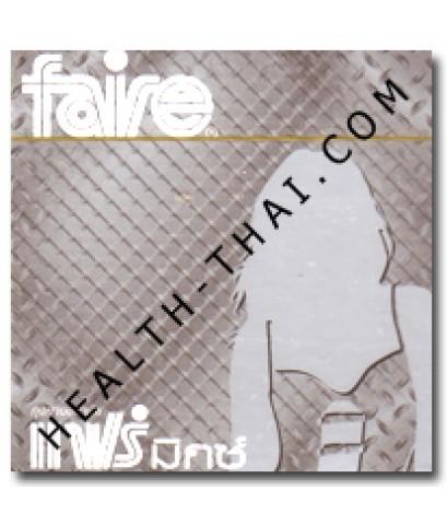 Faire Mix ถุงยางอนามัย แฟร์ มิกซ์ – ถุงยาง ผิวไม่เรียบ มีปุ่ม+วงแหวน 52 มม. - 1 โหล