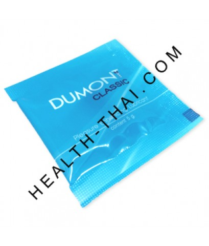 HOT - Dumont Gel ดูมองต์ เจล - ครีมหล่อลื่น สูตรน้ำ แบบซอง สะดวกสำหรับพกพา - 1 ซอง