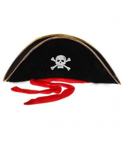 พร้อมส่ง หมวกโจรสลัด ทรงยาว หมวกแฟนซี หมวกแฟนซีโจรสลัด Sexy Pirate Hat