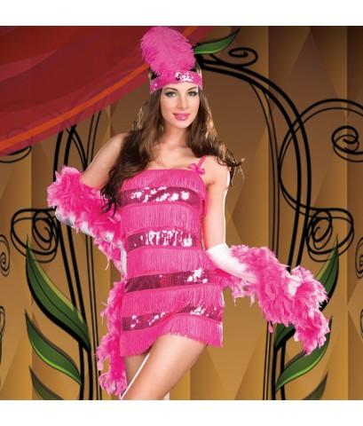 พร้อมส่ง ชุดแฟนซี ชุดนักร้องคาเฟ่ ชุดหางเครื่อง ชุดราชินีลูกทุ่ง ชุดรวมเครื่องประดับตามรูป ยกเว้นถุง