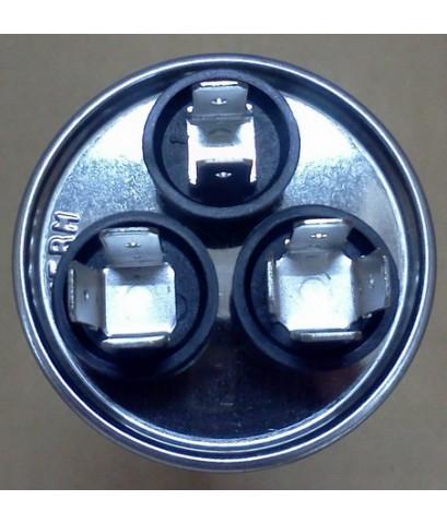 รันนิ่ง คาปาซิเตอร์ + แคปพัดลม ชนิด 3 ขั้ว (แคปรัน+แคปพัดลม) 30MFD/1.5MFD 370/400V \'LG\'