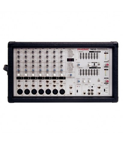 เพาเวอร์มิกเวอร์(Power Mixer) PHONIC รุ่น Powcrpod 740 Plus