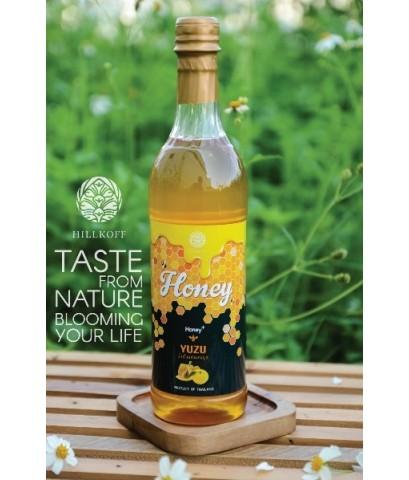 น้ำผึ้งธรรมชาติแท้ ผสมยูสุ