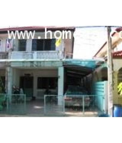 บ้านแฝด 2 ชั้น หมู่บ้านพระปิ่น5 บางบอน เนื้อที่ 26.60 ตร.วา สภาพพร้อมอยู่