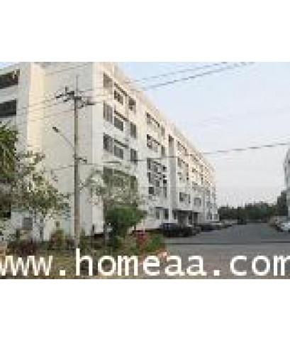 คอนโดมิเนียม การเคหะชุมชนออเงิน ชั้น4 อาคาร23 ถ.สุขาภิบาล5 (ห้องมุม) เนื้อที่ 30.11 ตร.ม.