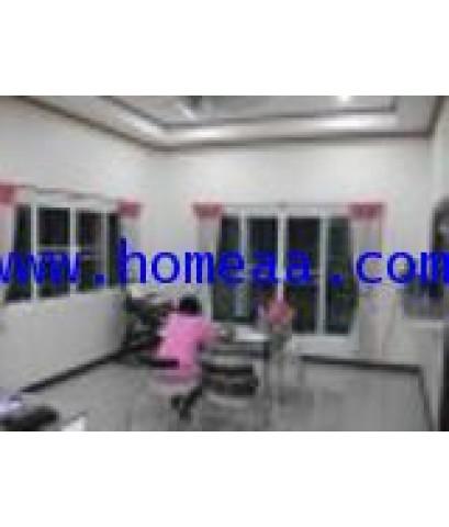 บ้านเดี่ยว 1 ชั้น อยู่ในบ้านดอนซาก เนื้อที่ 138 ตร.วา อ.กำแพงแสน จ.นครปฐม พร้อมอยู่