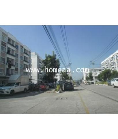 คอนโดมิเนียม บ้านร่วมทางฝัน3 อาคารB3 ชั้น5 เนื้อที่ 28 ตร.ม. ถ.เทพกุญขร2 ปทุมธานี (C1013)