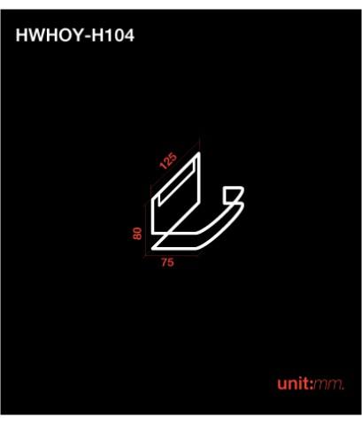 ห่วงแขวนกระดาษทิชชู่ HWHO-YH104