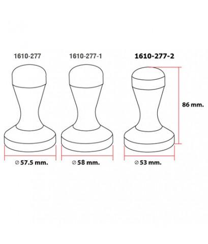 แท็มเปอร์สแตนเลส 53 มม. 1610-277-2