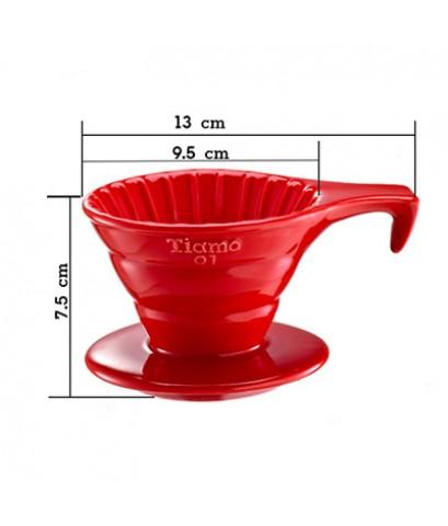 ถ้วยดริปกาแฟเซรามิค รูเดี่ยว 1-2 ถ้วย 1610-458