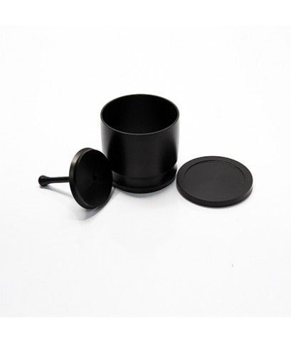 ชุดวงแหวนครอบด้ามชงกาแฟทรงกระบอก พร้อมแทมเปอร์กดกาแฟ อลูมิเนียม 1610-516