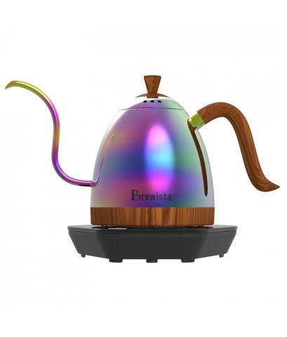 กาต้มน้ำคอห่าน Brewista ต้มตามอุหณภูมิที่กำหนด 600 ml. สีรุ้ง 1614-174-C20