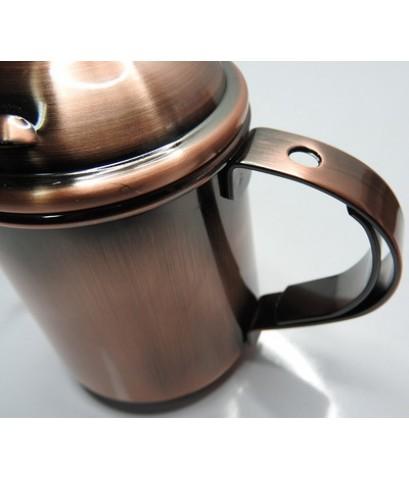 กาต้มน้ำดริปกาแฟ สีดำเมทัล 400 ซีซี. 1610-381-C01