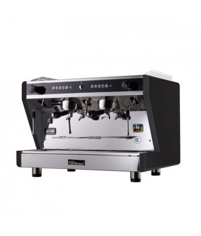 เครื่องชงกาแฟเอสเปรสโซ่ Delisio 2 หัวกรุ๊ป สีดำ 1614-108-C01