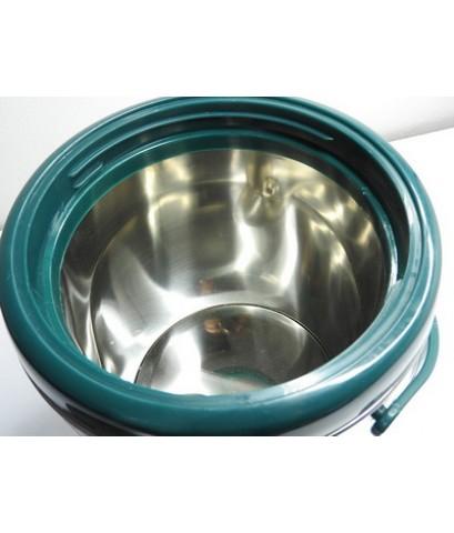 ถังเก็บชานม ถังคูลเลอร์ สแตนเลส 12 ลิตร สีเขียว 1614-085-C06