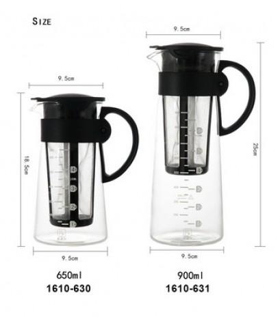 แก้วชงชากาแฟ มีตะแกรงกรอง koonan 900ml. 1610-631
